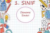 1. SINIF DENEME SINAVI (1)
