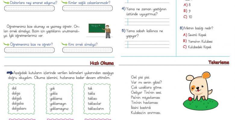 1. Sınıf Hızlı Okuma Etkinlikleri  (4)