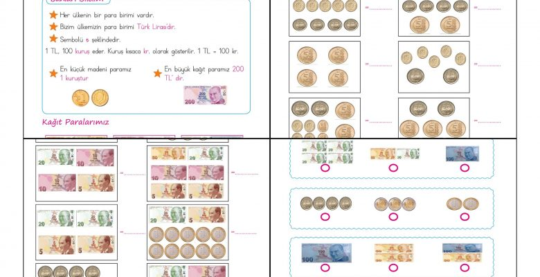 2. Sınıf Matematik Paralarımız – 1