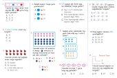 2. Sınıf Doğal Sayılar Kazanım Testi – 1