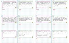 3. Sınıf Bölme İşlemi Problemleri – 1