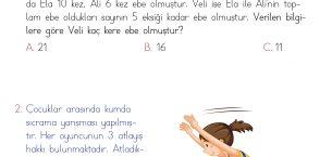 1. Sınıf Soruya Gel Problemleri – 2