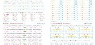 2. Sınıf Matematik Onluğa Yuvarlama Etkinlikleri