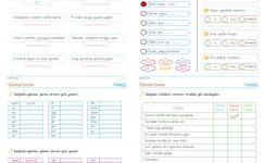 3. Sınıf Eylem Bildiren Kelimeler PDF