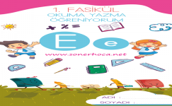 1. Sınıf E Sesi Etkinlikleri ve Çalışmaları