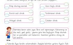 2. Sınıf Hayat Bilgisi Bireysel Farklılıklarımız