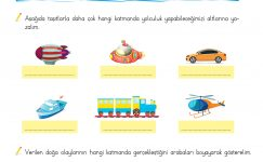 3. Sınıf Fen Bilimleri (Kara Katmanı – Su Katmanı)