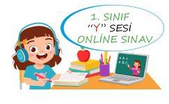 1. Sınıf Y Sesi Online Sınav
