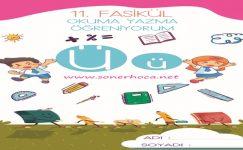 1. Sınıf Ü Sesi Etkinlikleri ve Çalışmaları