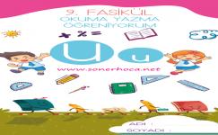 1. Sınıf U Sesi Etkinlikleri ve Çalışmaları