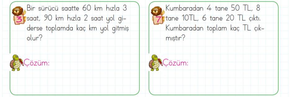 3. sınıf matematik çarpma işlemi problemleri (2)