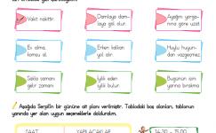 3. Sınıf Hayat Bilgisi (Planlı Olalım)