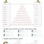 2 sınıf çarpma işlemi etkinlikleri