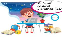 2. Sınıf Online Deneme Sınavı – 10 (2020 – 2021)