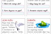 1. Sınıf Kısa Okuma Metinleri (11)