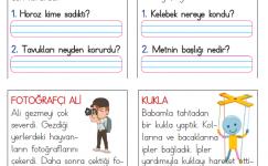 1. Sınıf Kısa Okuma Metinleri (12)
