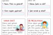 1. Sınıf Kısa Okuma Metinleri (9)
