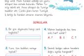 1. Sınıf Okuma Anlama Metni – 25 (Sevimli Yunus Yumi)