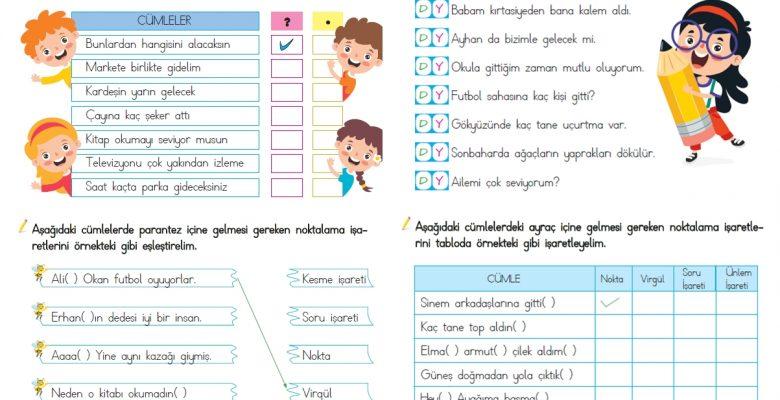 1. Sınıf Noktalama İşaretleri (2)