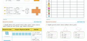 3. Sınıf Geometrik Cisimler