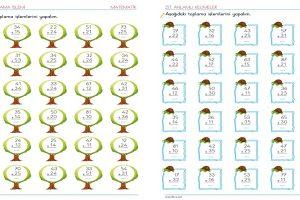 2. Sınıf Eldesiz Toplama İşlemi Etkinlikleri – 2