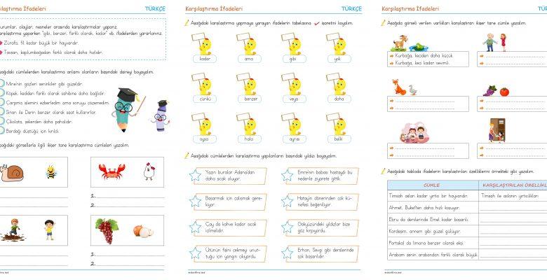 3. Sınıf Karşılaştırma İfadeleri