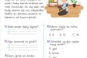 1. Sınıf Okuma Anlama Metni – 32 (İyiliksever Sedat)