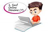 1. Sınıf Online Deneme Sınavı – 7 (2020 -2021)