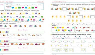 2. Sınıf Geometrik Örüntüler – 1