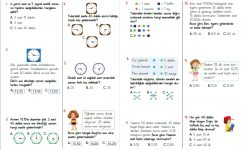 3. Sınıf Zamanı Ölçme Testi – 3