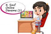 4. Sınıf Online Deneme Sınavı -1 (2020-2021)