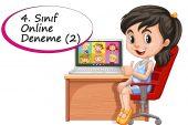 4. Sınıf Online Deneme Sınavı -2 (2020-2021)