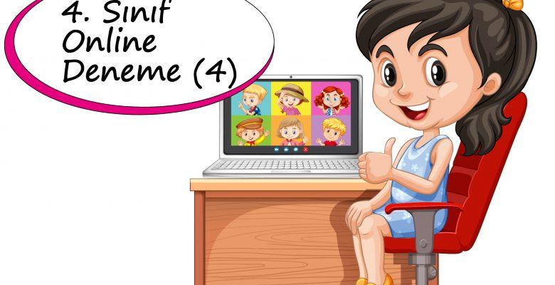 4. Sınıf Online Deneme Sınavı – 4 (2020-2021)