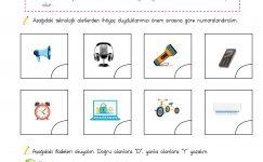 4. Sınıf Teknolojik Aletler – 1