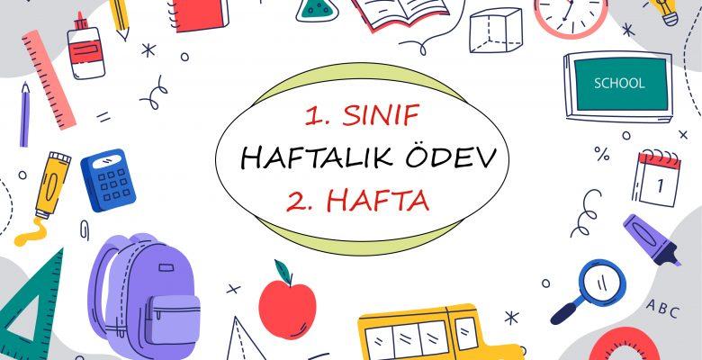 1. Sınıf Haftalık Ödev (1. Dönem 2. Hafta)